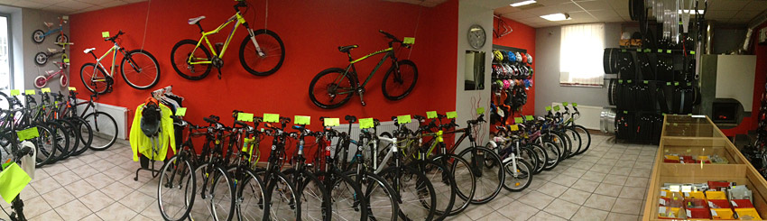 Cyklo Kyjov - prodejna